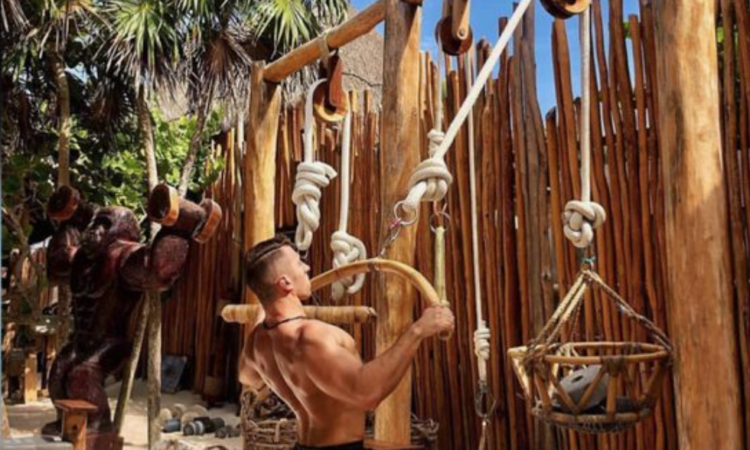 Fitness vakantie _ Outdoor Jungle Gym Tulum Mexico